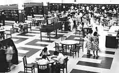 National Library Central Lending Section reading area : close-up (PicturesSG) Tags: singapore library central snap national publicbuildings historicbuildings nlb architectureandlandscape singaporepictures buildingtypes librariesarchitectureandlandscape 72dpijpegonly