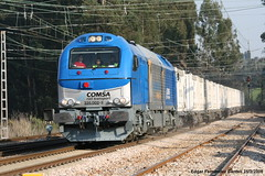 Euro Clinkero (Trenero EFC) Tags: train tren transport rail railway locomotive locomotora ferrocarril 335 villabona vossloh comsa clinquer
