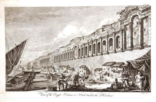 03-Vista de la Crypto Porticus, o la parte frontal hacia el puerto