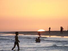 Yellow sunset (jmven) Tags: sunset beach yellow island venezuela playa punta margarita arenas mosquera z612 kodaz