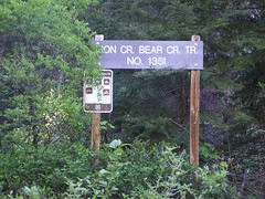 Trailhead from Iron Creek