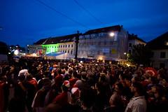 Karmeliterplatz  AUT vs. GER
