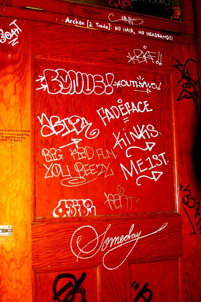 Bonus bathroom grafitti