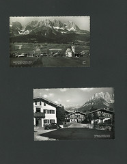 Going und Wilden Kaizer, Tirol (Rootzj) Tags: vintage tirol sterreich going 1956 ilse foundphotos luftkurort wildenkaiser vernacularphotos gefundenfotos hotelschnablwirt