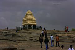 Kempegowda Tower 2 (Swami Stream) Tags: india tower monument canon landscape rebel bangalore x historical karnataka lalbagh kempegowda xti swamistreamcom