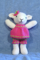 Mathilde (Poopshe_Bear) Tags: toy toys knitting handmade knit handknit softies lamb lambs knitted stuffies mathilde poopshe poopshebear