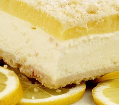 Newport Desserts 4lb. Lemon-Fruit Cream Bars1