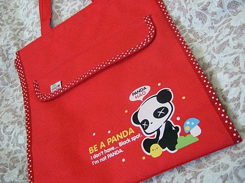 Sad panda bag