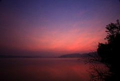 Foggy Sunrise at Marsh Creek Lake (No_clever_names_left (Michael Lawrence)) Tags: longexposure mist fog sunrise reflections pennsylvania chestercounty canonefs1022mmf3545usm marshcreekstatepark 25secondexposure marshcreeklake canoneos40d
