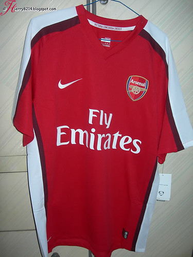 Arsenal 08-10 Home Jersey
