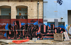 Silence, Udon (funkandjazz) Tags: sanfrancisco california snow graffiti udon md silence silencer bth