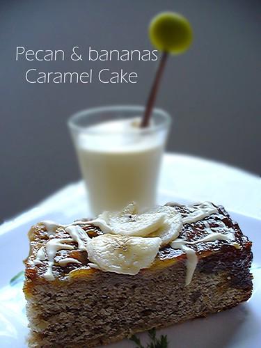 pecan banana cake