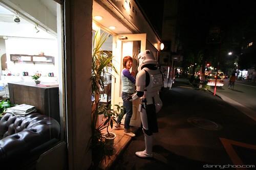 Stormtrooper haircut