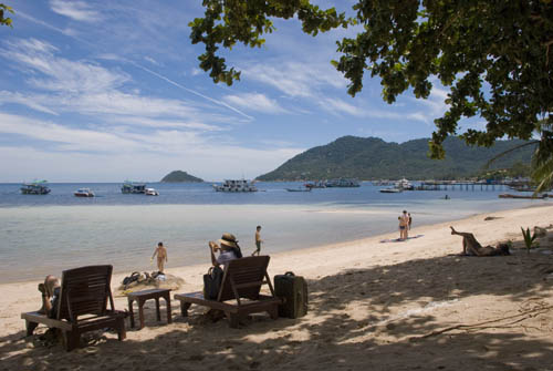 Beach in Mae Haad