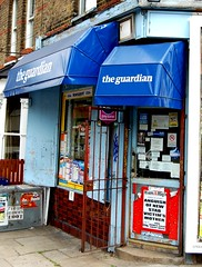 Corner Shop (Gaz-zee-boh) Tags: park uk blue england news london shop newspaper britain camden hill crime stab islington cornershop guardian theguardian newsagents bluestblue n19 hamhigh dartmouthparkhill nikond40 stabvictim dartmouthstores