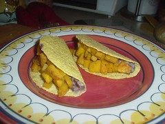 Butternut and Black Bean Bean Tacos