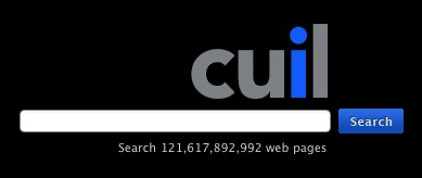Cuil Home Page