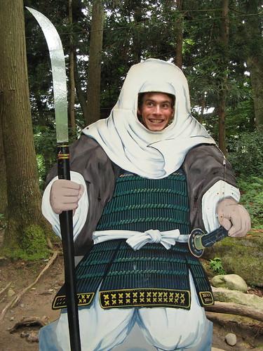 Samurai master Craig
