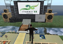 iSummit 08 in Second Life