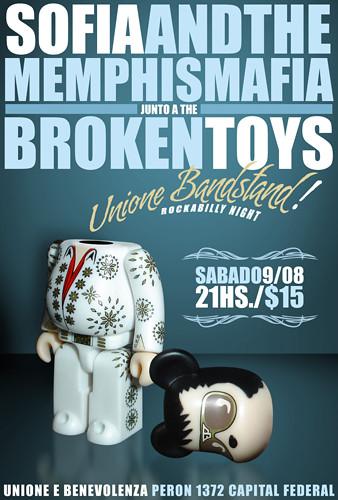 Sofia and the Memphis Mafia & The Broken Toys
