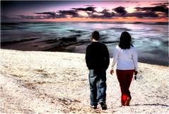 Dove tramonta il mar ...