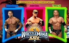 2008 WWE Wrestlemania XXIV