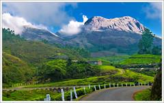 Munnar - Good Morning (kcbimal) Tags: road blue mountain holiday green station clouds hill kerala munnar bimal kundala nallathanni mudrapuzha