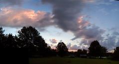 Fun rise (Steve Sorrels) Tags: morning panorama clouds photoshop sunrise landscape calico columbiamissouri stevesorrels