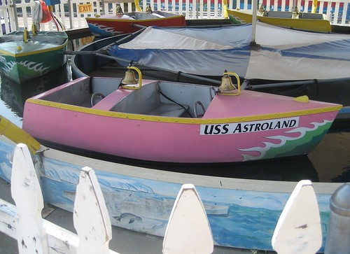 USS Astroland, Herschell Boat Ride at Deno's Kiddie Park in Coney Island. Photo by me-myself-i/Tricia Vita via flickr