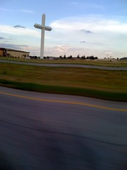 the biggest cross in the western hemisphere (alist) Tags: drive texas cross alist robison alicerobison ajrobison
