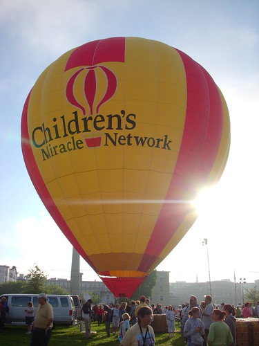 Balloon festival 2008 - Children's Miracle Network