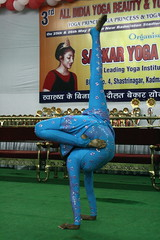Yoga Princess (YY) Tags: yoga performance competition yogi posture poses asana jamshedpur
