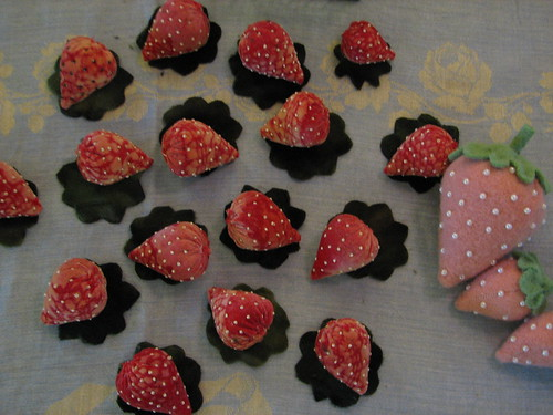 making berries