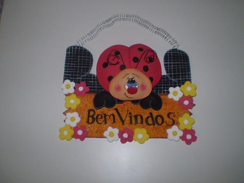 Bem Vindos Joaninha      By Ateli  R Felicidade