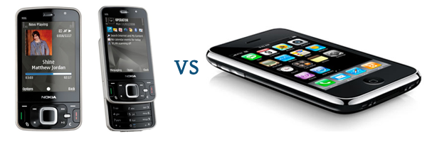 War - Nokia N96 vs Apple iPhone