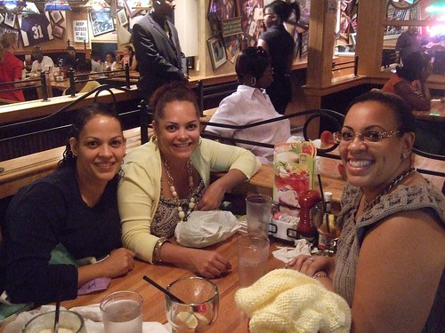 At Applebees with the Girls