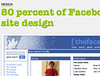 80 percent of Facebook users still using old site design