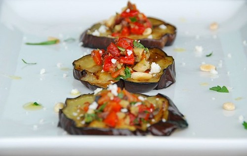 eggplant red pepper tapenade