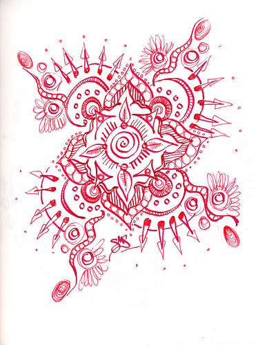 Red Mandala - I like this one