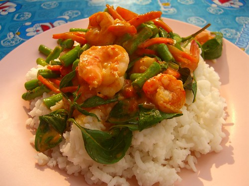 Street-Side Thai Red Shrimp Curry