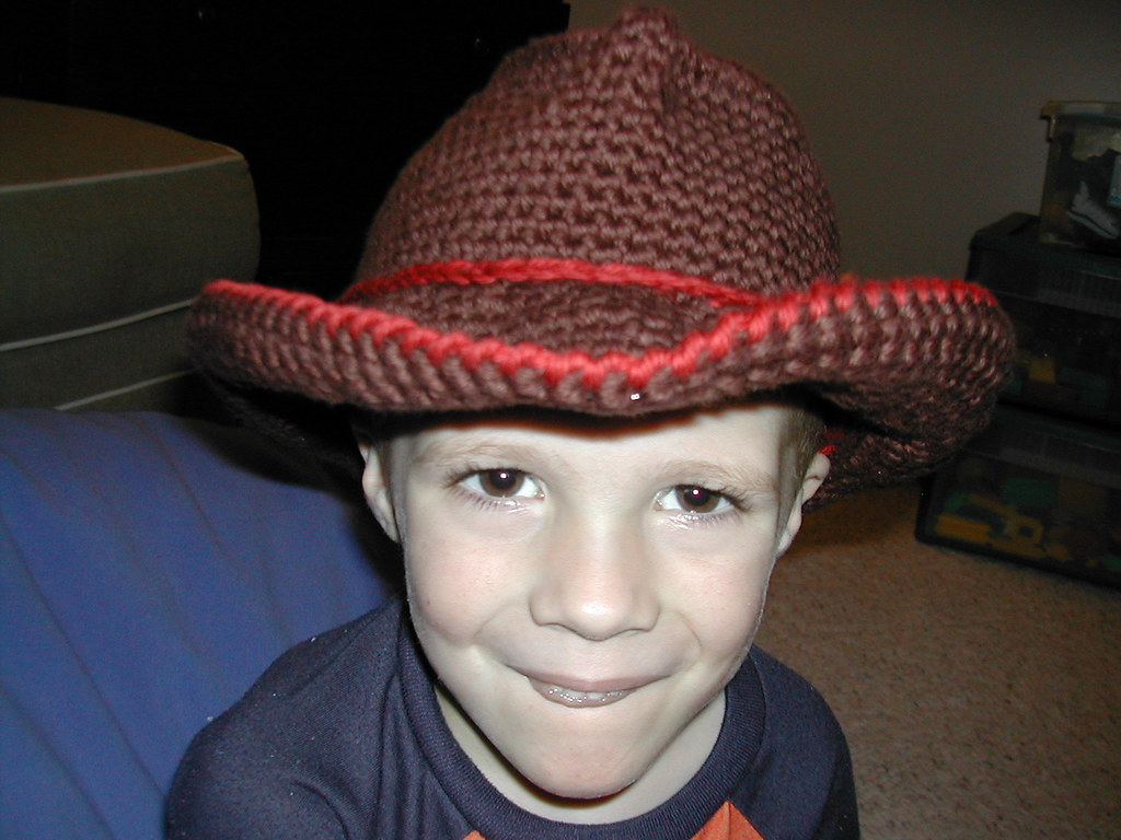 Knits and Knots: Yet Another Cowboy Hat