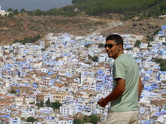 Chefchaouen , the blue city (skysa) Tags: morocco maroc chefchaouen