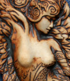 Angel Torso Wall Sculpture (small)