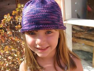 Ravelry  Basic Rolled-Brim Hat pattern by JoAnne Turcotte f9302a246e4