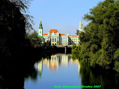 Romania Transylvania Oradea The City Hall 2007 (MarculescuEugenIancuD60Alaska) Tags: romania smrgsbord oradea artcafe flickrsbest mywinners visiongroup platinumheartawards excapture goldstaraward worldwidelandscapes rubyphotographer favouritecapture grouptripod jediphotographer 123f38 transylvaniaoradea cedruseternu