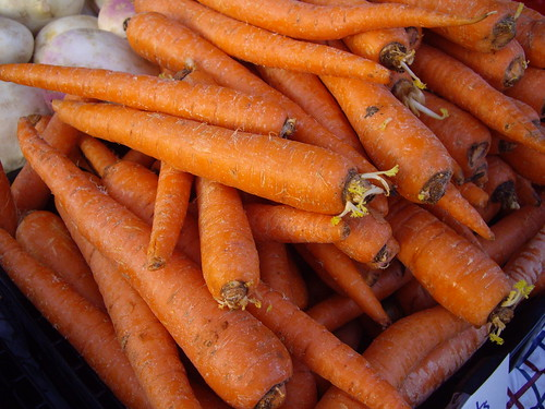 Carrots from Persinger Farms