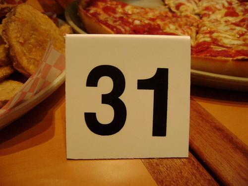 Shakey's Mojos, pizza & #31