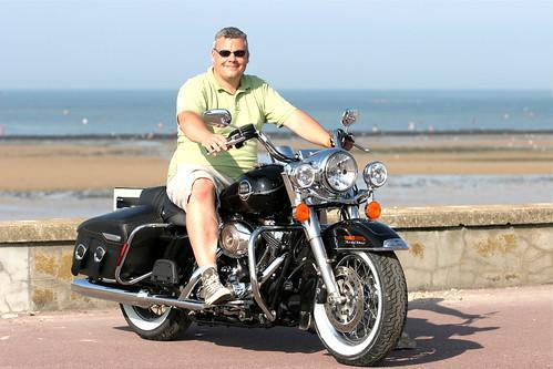 Ma moto et moi