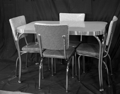 Dinette Set, 1954, by the Library of Virginia
