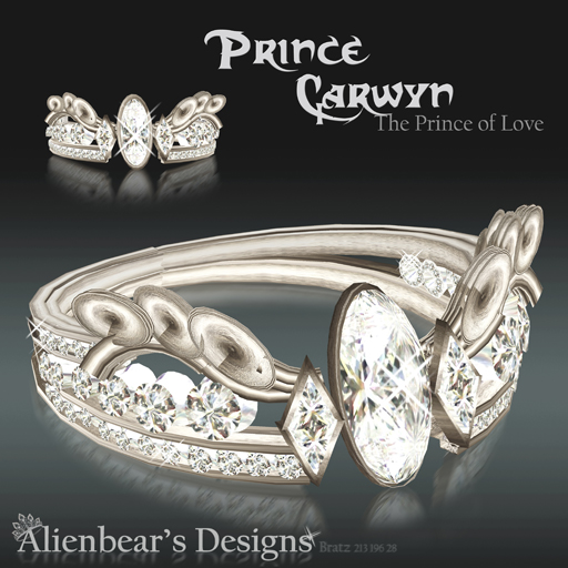 Ring Prince Carwyn white